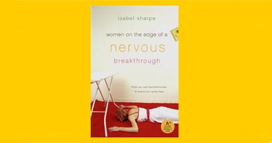 women on the edge of a nervous breakthrough cover